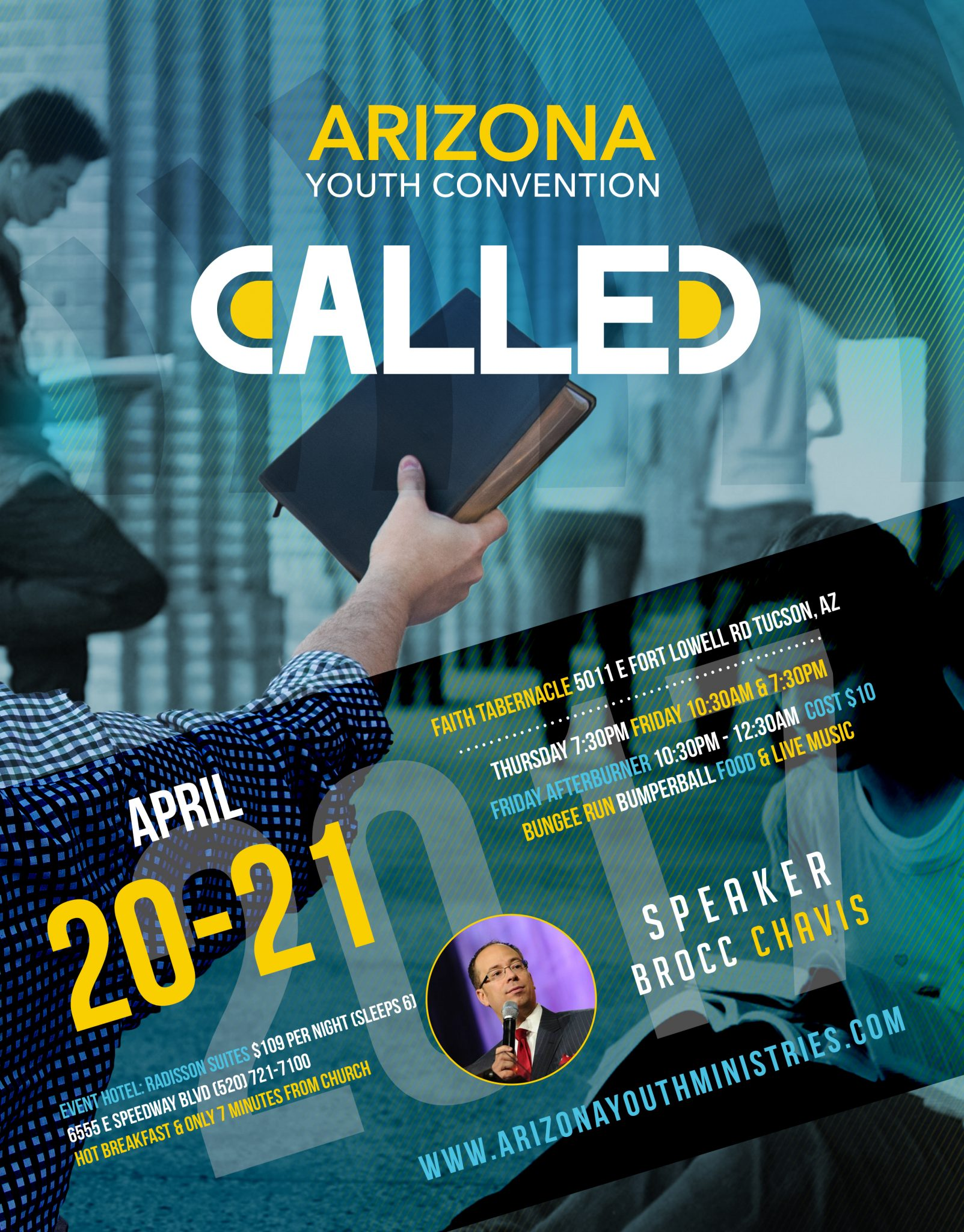 AZ Youth Convention 2017 Flyer